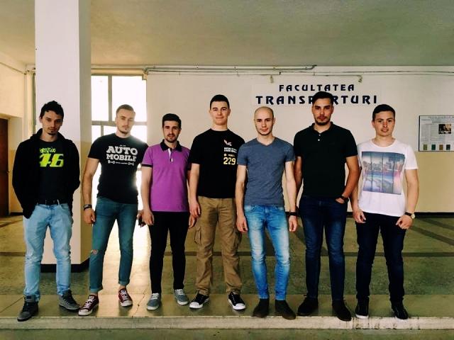 Echipa de Constructie: Iacob Andrei, Sima Dragos, Moja Andrei, Horoiu Andrei, Anhel Daniel, Panait Cosmin, Alexandru Andrei